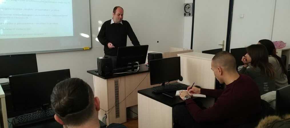"Gostujuće predavanje ""Razvoj informacionih sistema – primeri iz prakse"""