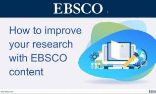 Snimak EBSCO predavanja i uputstvo za korišćenje
