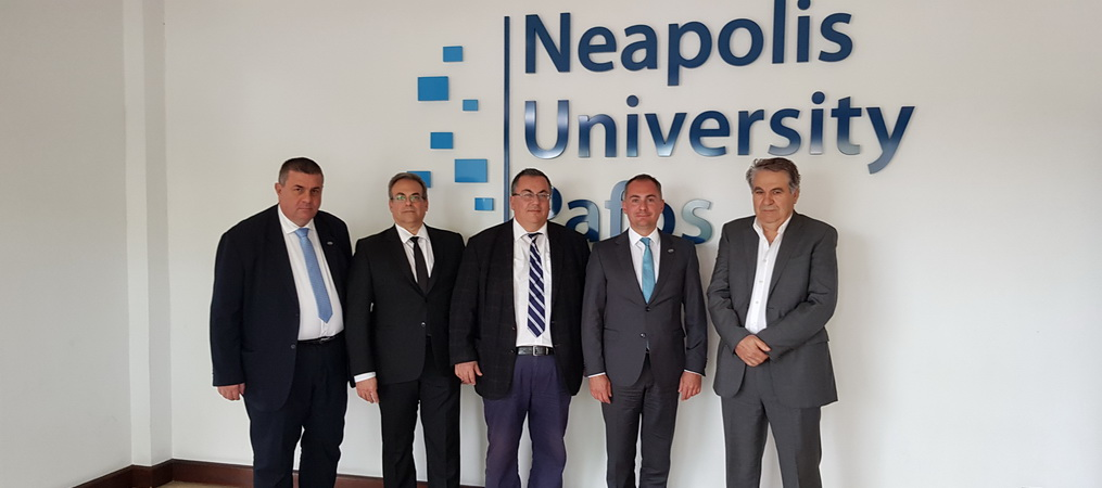 Scientific Cooperation Agreement Signed with Neapolis University in Pafos