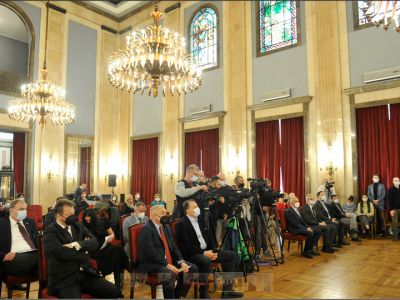 Recipients of the Belgrade City Award for 2019 and 2020