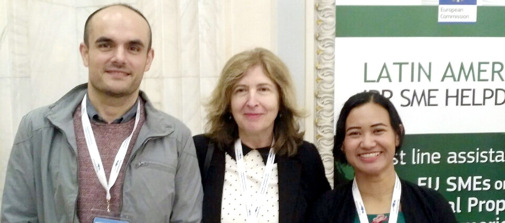 Prof. Dr. Mirjana Kranjac at the conference Connecting ecosystems