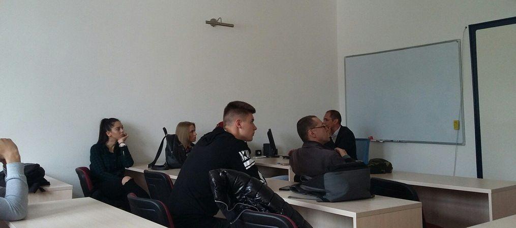 """Održano gostujuće predavanje dr Željka Mojsilovića ma temu """"Upravljanje talačkim krizama"""""""