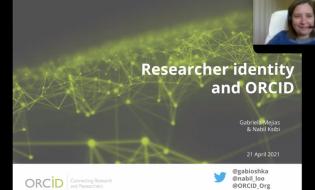 Web predavanje: Researcher identity and ORCID